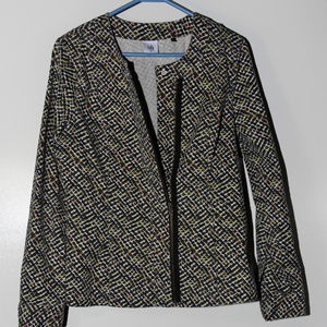 CAbi Cliffside Moto Jacket Zipper Size M #5099